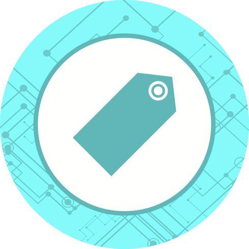 Tag Icon Design vektor
