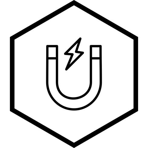 Magnet-Icon-Design vektor