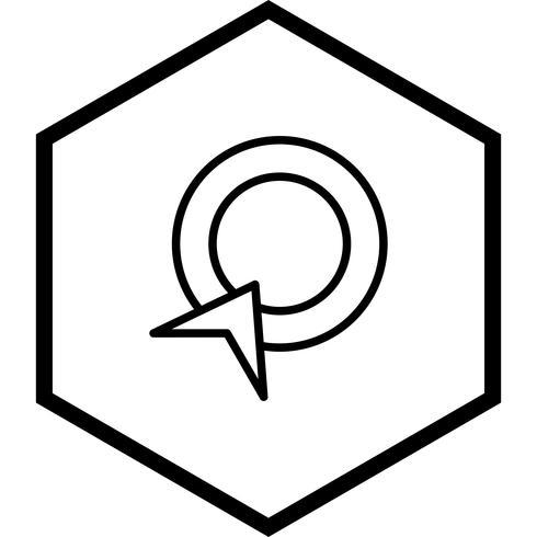 Pay-Per-Click-Icon-Design vektor