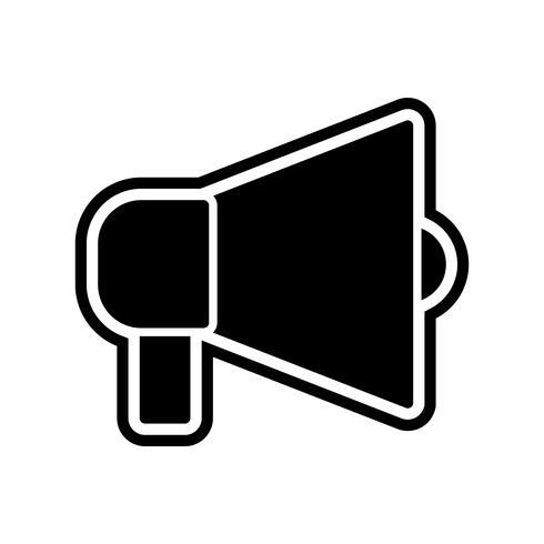 Ankündigung Icon Design vektor
