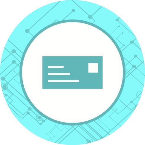 ID-Kartensymbol Design vektor