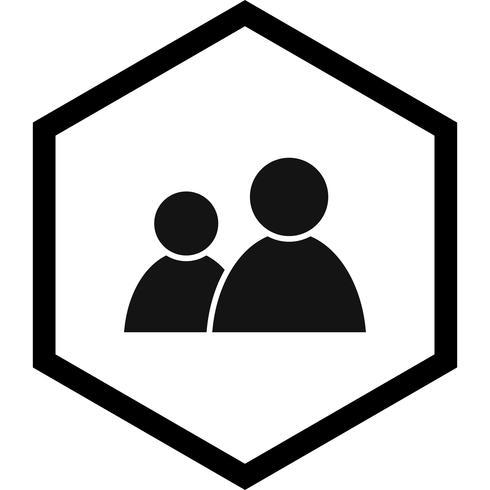 Användare Icon Design vektor