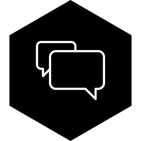 chat icon design vektor