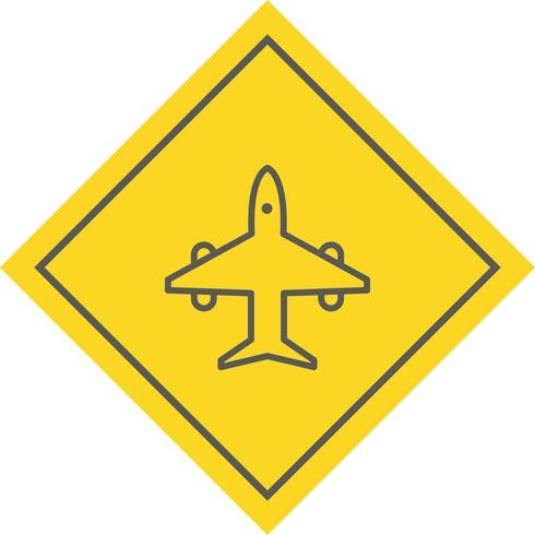Flugzeug-Icon-Design vektor