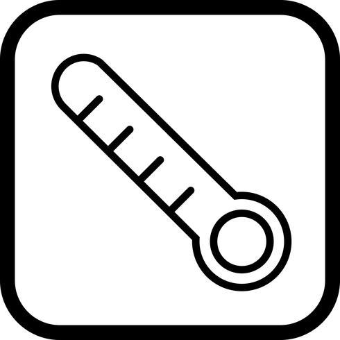 Termometer Icon Design vektor