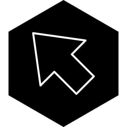 Cursor-Icon-Design vektor