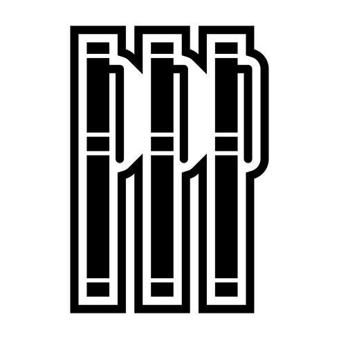 markör ikon design vektor