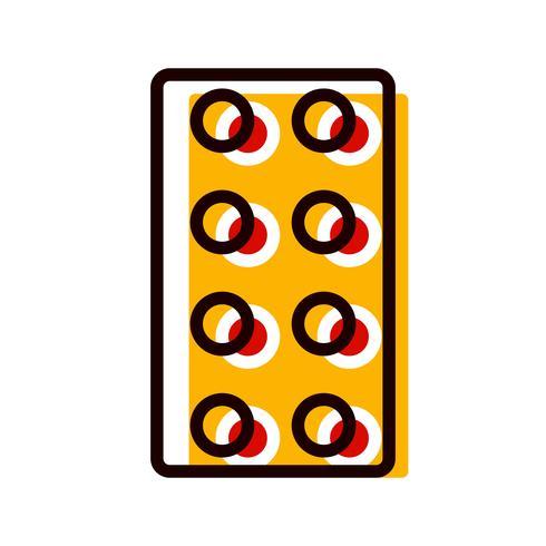 Tabletter Icon Design vektor