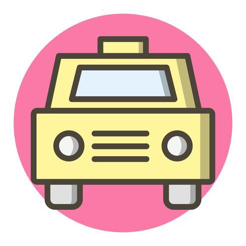 Taxi-Icon-Design vektor