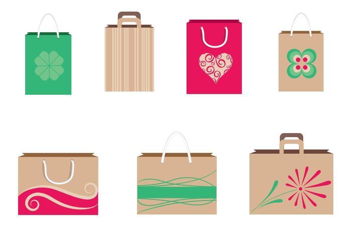 Einkaufstaschen Vector Pack