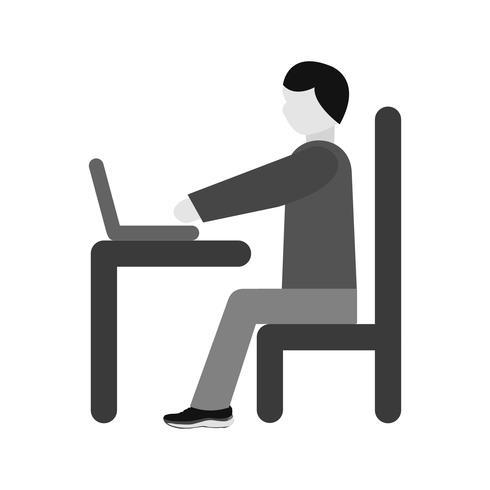 Laptop Icon Design verwenden vektor