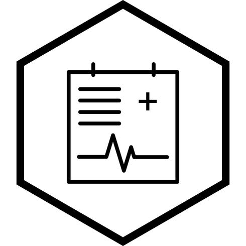 medicinsk diagram ikon design vektor
