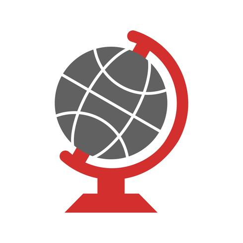 Globe icon design vektor