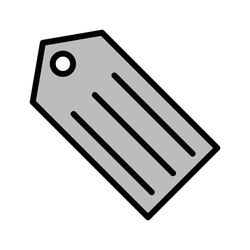 Tag-Icon-Design vektor