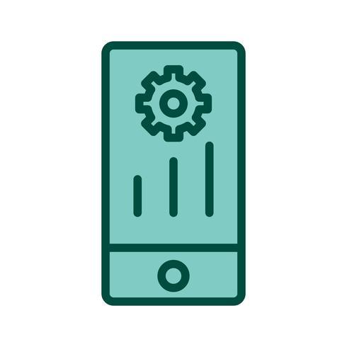 Mobiles Marketing-Ikonendesign vektor