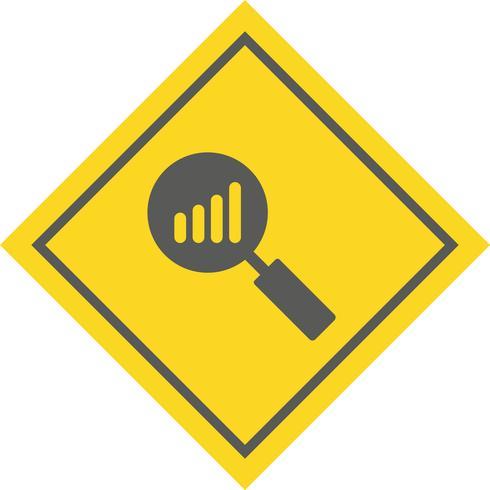 Analyse-Icon-Design vektor
