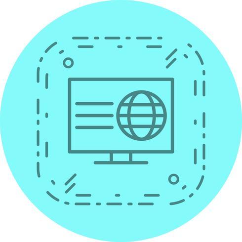 Webseiten-Icon-Design vektor