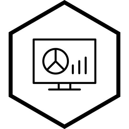 Diagramm-Icon-Design vektor