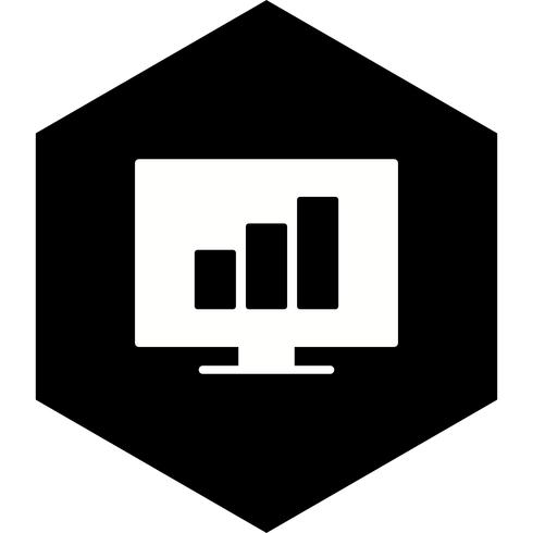 Statistik Icon Design vektor