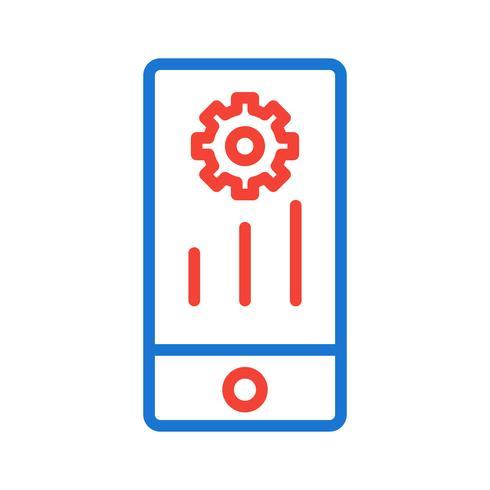 mobil marknadsföring ikon design vektor