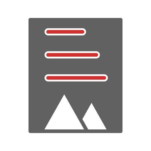 Dokument Icon Design vektor