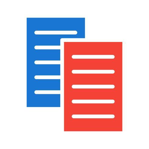 Dateien Icon Design vektor