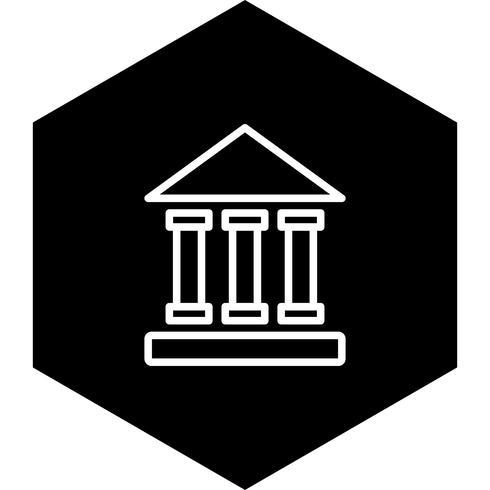 Utbildningsinstitut Ikondesign vektor