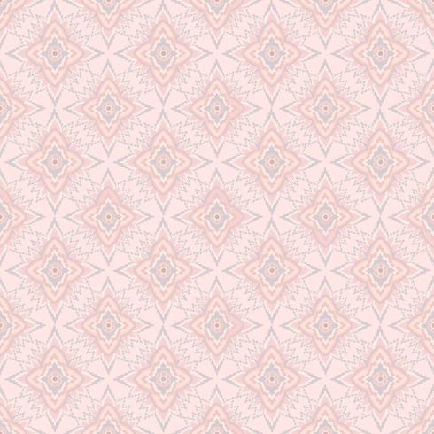 Nahtloses Blumenmuster Abstrakte Blumenverzierung. vektor