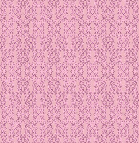 Abstrakt sömlöst mönster. Retro virvel linje prydnad. vektor