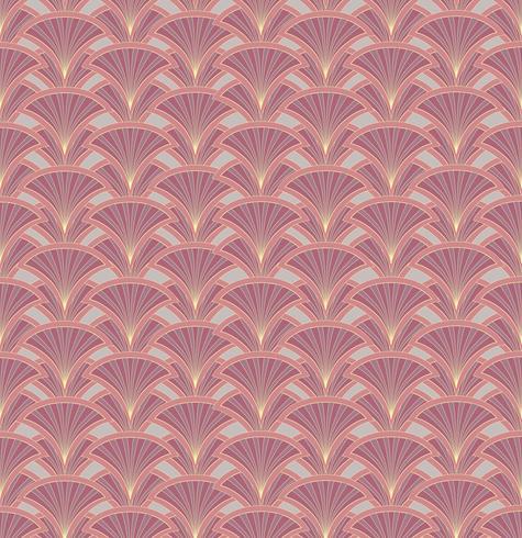 Nahtlose Blümchenmuster Retro-Verzierung aus Brokat. Gedeihen Blätter Kulisse vektor