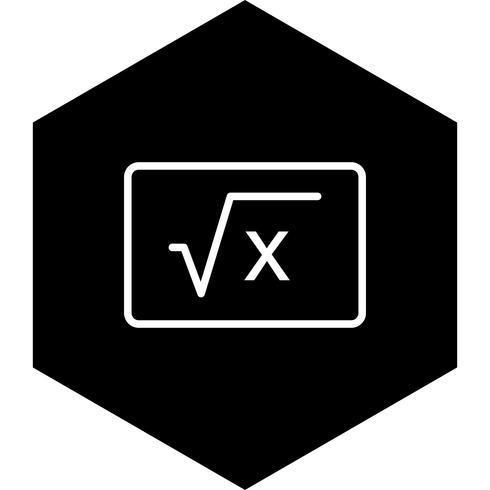 Formel Icon Design vektor