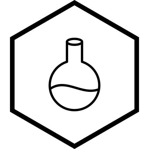 Kolben-Icon-Design vektor