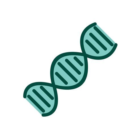 DNA-Icon-Design vektor