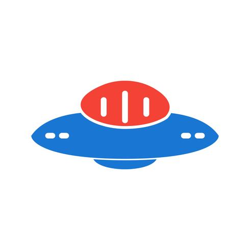 UFO-Icon-Design vektor