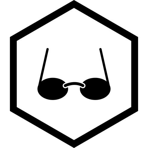 Brille Icon Design vektor