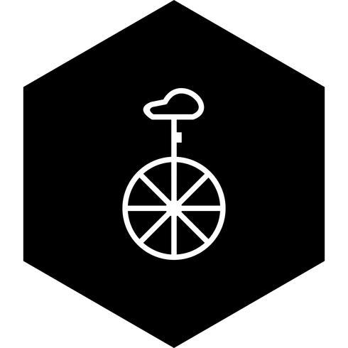 Einrad Icon Design vektor