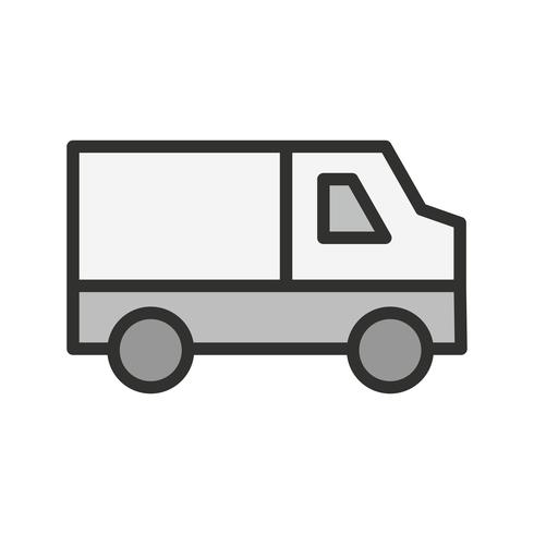 Van Icon Design vektor