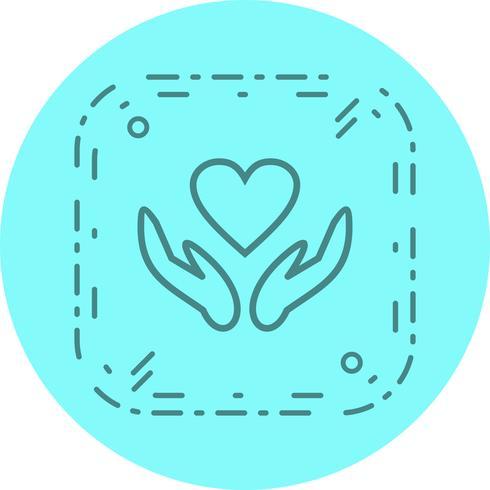 Gesundheitszeichen Icon Design vektor