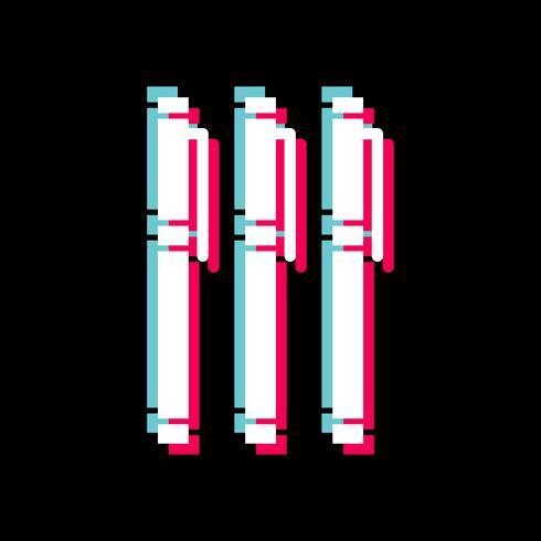 Markierungs-Icon-Design vektor
