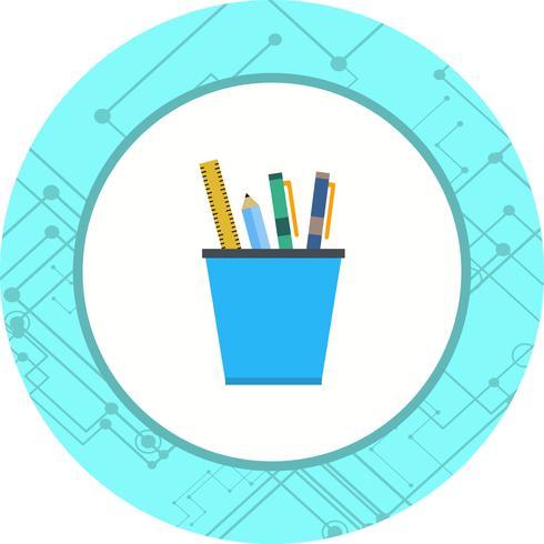 Briefpapier Icon Design vektor