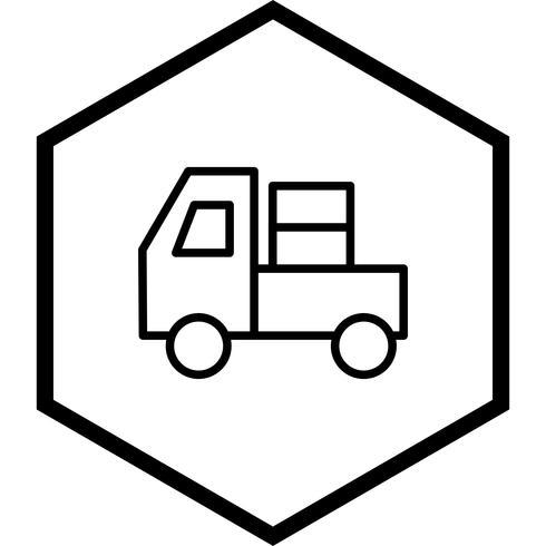 Träger-Icon-Design vektor
