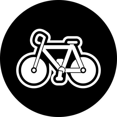 Cykel Icon Design vektor