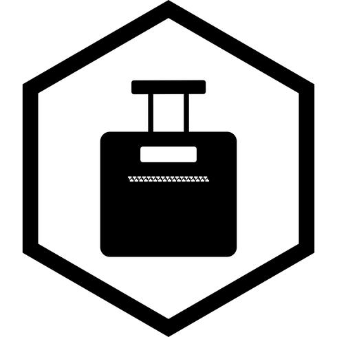 Tasche Icon Design vektor