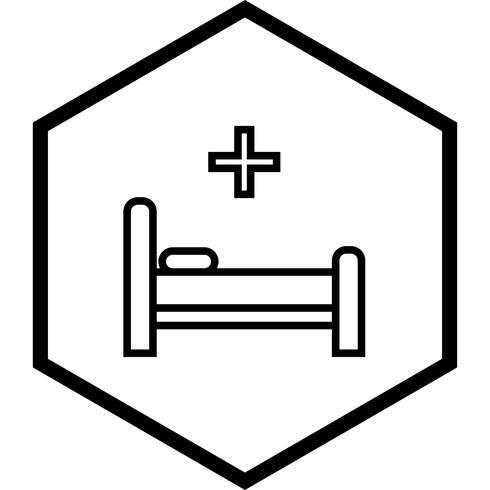 Bett Icon Design vektor