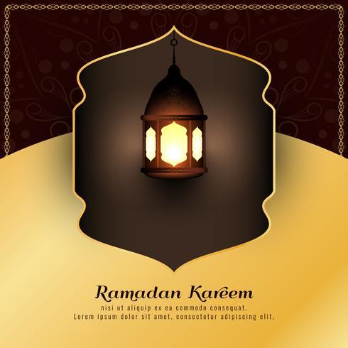Abstrakter religiöser islamischer Hintergrund Ramadan Kareems vektor