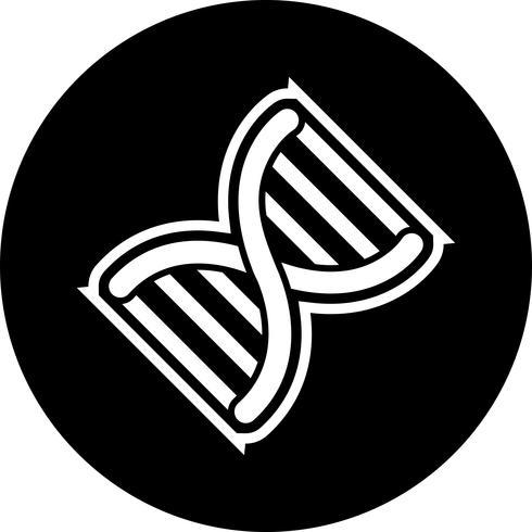 Genetik Icon Design vektor