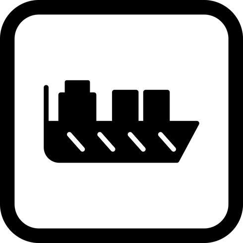 Schiff Icon Design vektor