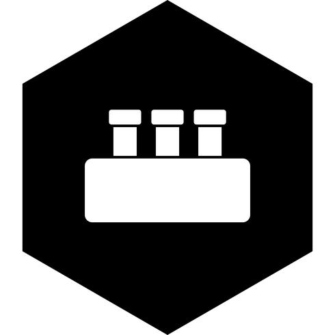 Chemie Set Icon Design vektor