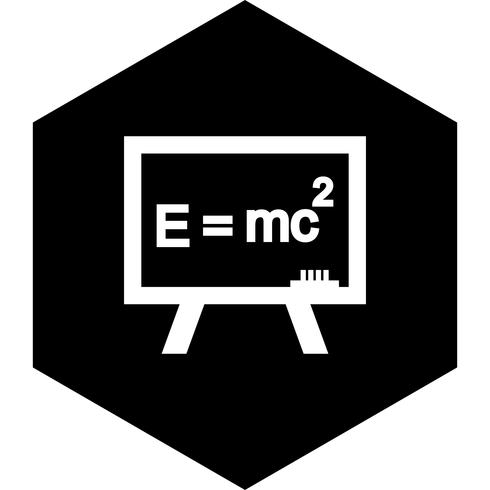 Formel-Icon-Design vektor