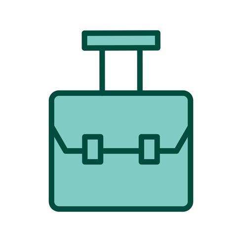 Tasche Icon Design vektor